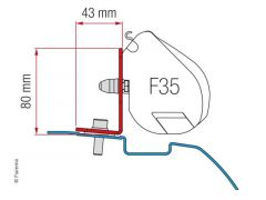 Fiamma Adapter Kit Nissan NV200/Evalia - F35 Pro