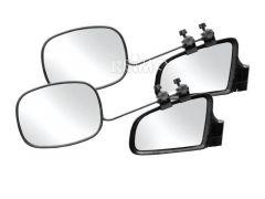 Aufklemmspiegel Argus - glattes Glas - 2er-Set