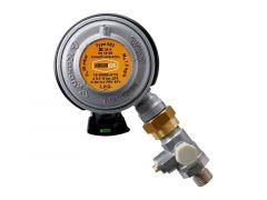 Gasregulator Click-on mit Testpunkt