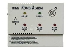 AMS Gas-Kombi Alarmgerät 12V