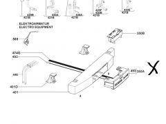 Dometic Bedienfeld mit Temperaturfühler - AES4