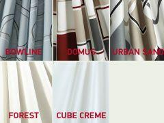 Isabella Gardinenset Standard - Cube Creme