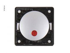 Berker Kontroll-Wippschalter chrommatt 230V