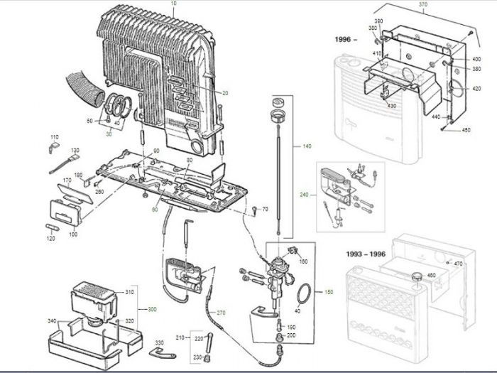ersatzteile s 3002 30mbar 05 1996 05 1999. Black Bedroom Furniture Sets. Home Design Ideas