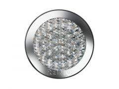 Jokon 12V LED Blink-Brems-Schlussleuchte Ø122mm