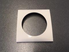 Berker Integro 1-fach Steckdosenrahmen polarwiss