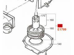 Truma 12 V Motor mit Gebläserad, TEB-2/TEN-2