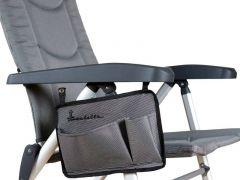 Isabella Seitentasche für Stuhl - light grey