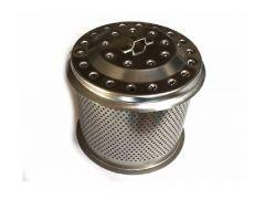 Lotus Edelstahl-Kohlebehälter XL