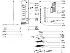 Dometic Aufnahme für Schloßriegel - Kühlschrank