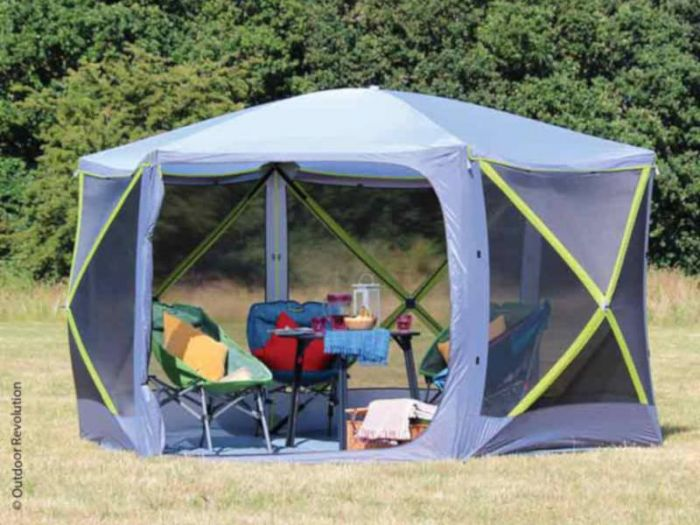 pavillo camping gear 22cm pavillon camping ebay. Black Bedroom Furniture Sets. Home Design Ideas