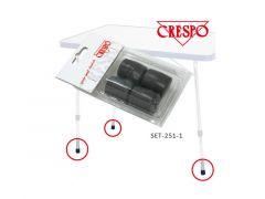 Fußkappen für Crespo Tische