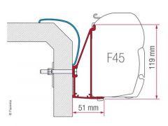 Fiamma Adapter Rapido Serie 6