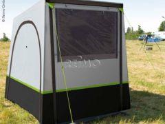 Tuffi 2 - selbststehendes Heckzelt für kleine Reisemobile und Vans