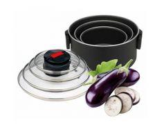 Topfset 6-teilig mit Click&Cook System