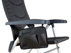 Isabella Seitentasche für Stuhl - dark grey