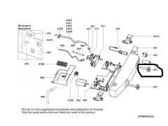 Dometic Drehknopf Thermostat schwarz/grau