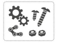Fiamma Montagesatz für Carry Bike Fahrradhalter